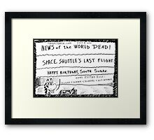 EXTRA! EXTRA! Laugh All About It! Framed Print