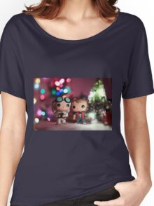 Christmas with Marty and Doc Women's Relaxed Fit T-Shirt