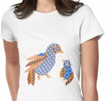 Paper Birds Womens Fitted T-Shirt