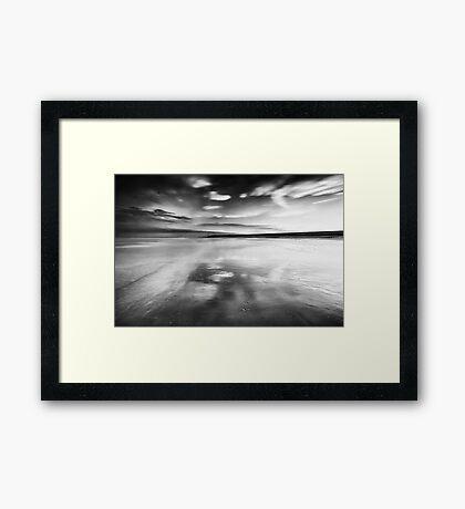 The Sky Rushes In Framed Print