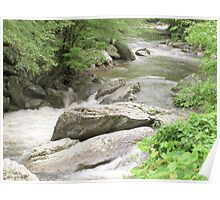 Flowing River - Tennessee Poster