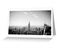 New York City, Empire State Building Greeting Card