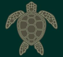 Green Sea Turtle Design by fizzgig