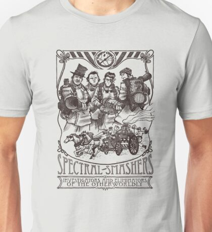 Spectral Smashers on light color Unisex T-Shirt