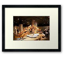 Stupendous Spinosaurus Framed Print