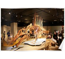 Stupendous Spinosaurus Poster