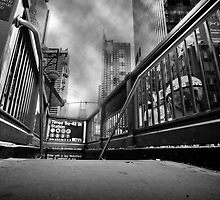 Times square, 42nd street by Laurent Hunziker