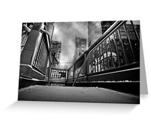 Times square, 42nd street Greeting Card
