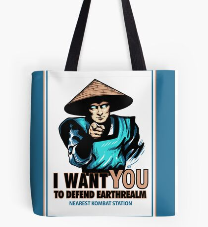 I Want YOU For Kombat Tote Bag
