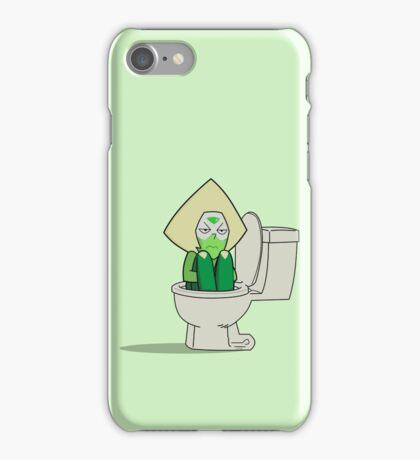 Peridot in the Toilet iPhone Case/Skin