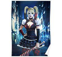 Harley quinn- Arkham Knight Poster