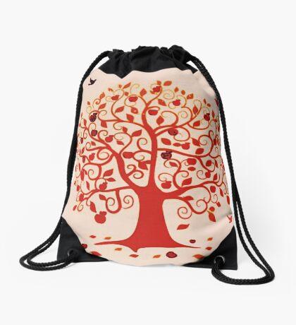 Embracing Fall  Drawstring Bag