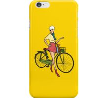 Agyness Deyn Cartoon Tshirt iPhone Case/Skin