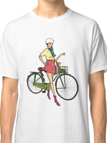 Agyness Deyn Cartoon Tshirt Classic T-Shirt