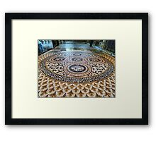 Mosaic Floor Framed Print