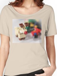 Lego Rudolf the Red Nose Reindeer Women's Relaxed Fit T-Shirt