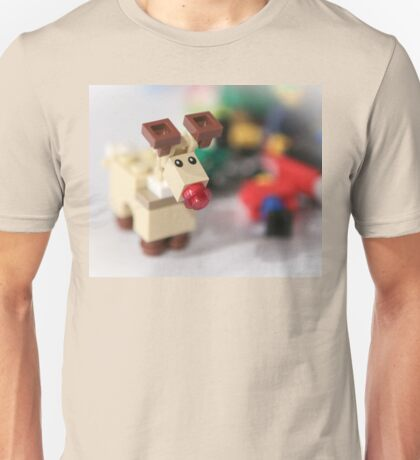 Lego Rudolf the Red Nose Reindeer Unisex T-Shirt