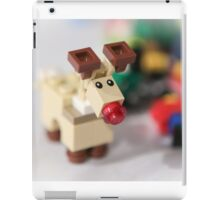 Lego Rudolf the Red Nose Reindeer iPad Case/Skin