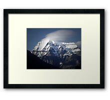 Mt Robson BC  Framed Print