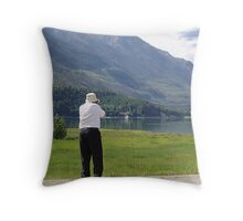 My Chauffeur to Beautiful Places Throw Pillow