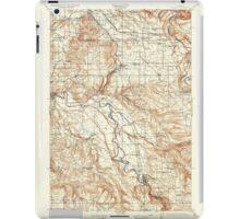 USGS Topo Map Oregon Boring 282271 1914 62500 iPad Case/Skin