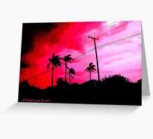 Prolific Palms Greeting Card