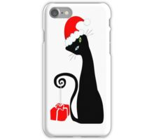 Purrfect Christmas iPhone Case/Skin