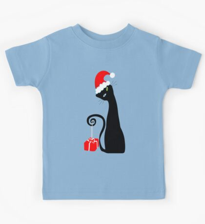 Purrfect Christmas Kids Tee