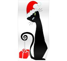 Purrfect Christmas Poster