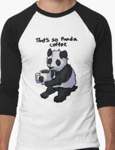 That's So Panda Coffee Men's Baseball ¾ T-Shirt