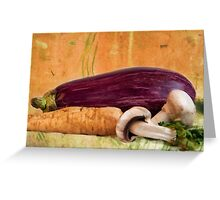 eat healthy Greeting Card