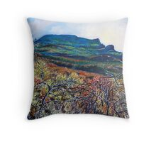 'Grandfather Mountain' Throw Pillow