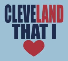CLEVELAND THAT I LOVE by chanu1801