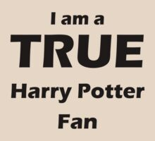 I am a True Harry Potter Fan by meldevere