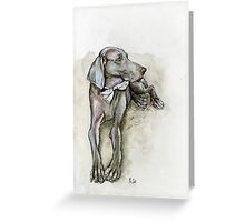 The Unconditional Love Greeting Card