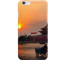 Sunset over the Forbidden City iPhone Case/Skin