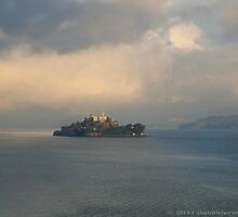 "Alcatraz ""A Beautiful But Lonely island"" by David Denny"