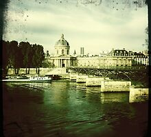 Pont des Arts, Paris by Cara Gallardo Weil