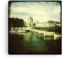 Pont des Arts, Paris Canvas Print