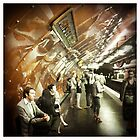 Arts et Métiers metro, Paris by Cara Gallardo Weil