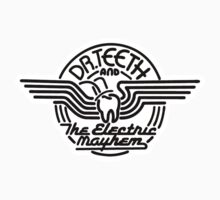 Dr.Teeth and the Electric Mayhem - Logo Design in BLACK by NoirGraphic