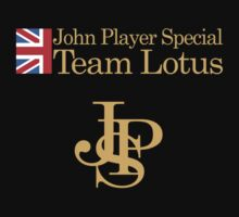 John Player Special Team Lotus Kids Tee