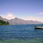 Looking out from Queenstown by Eileen O'Rourke