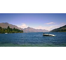 Looking out from Queenstown Photographic Print