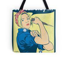 Buffy the Riveter Tote Bag