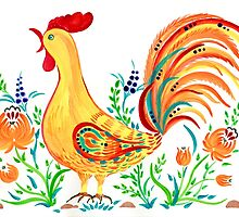 Rooster by Elena Way