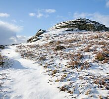 Dartmoor in the Winter time by Kerry Dunstone