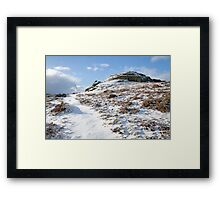 Dartmoor in the Winter time Framed Print