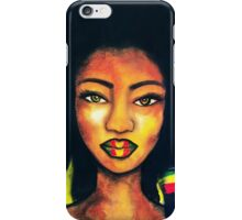 Jamaican Girl iPhone Case/Skin