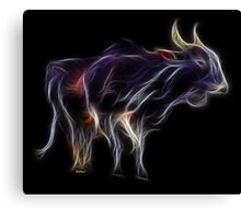 OX - Chinese Zodiac by Liane Pinel Canvas Print